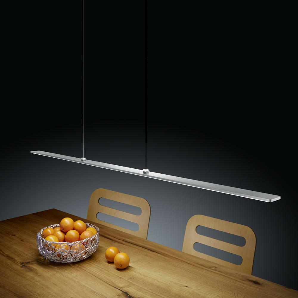 led pendelleuchte lexx in nickel matt 21w 1820lm helestra click. Black Bedroom Furniture Sets. Home Design Ideas