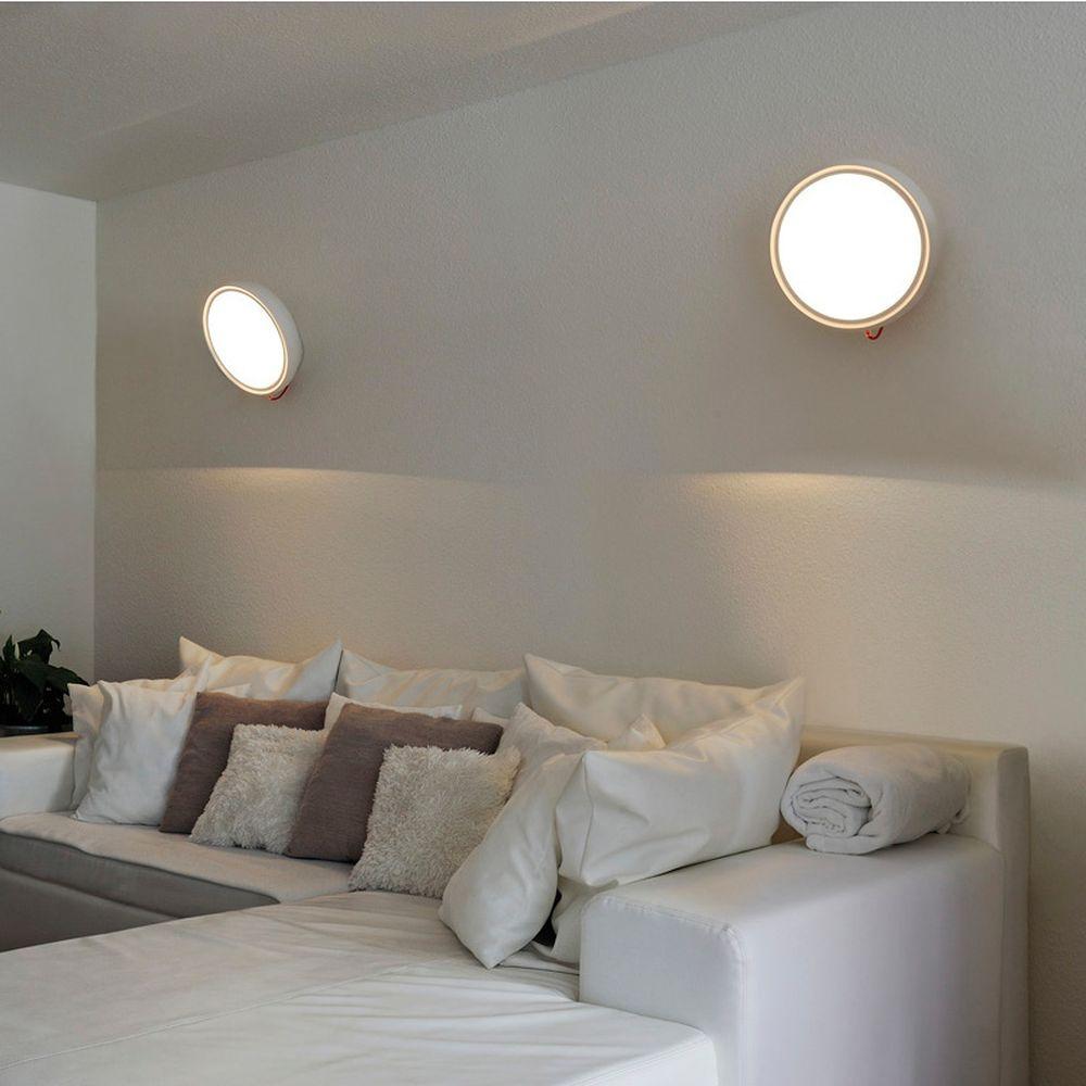 led wandleuchte i ring wei dimmbar 3000k rund slv. Black Bedroom Furniture Sets. Home Design Ideas