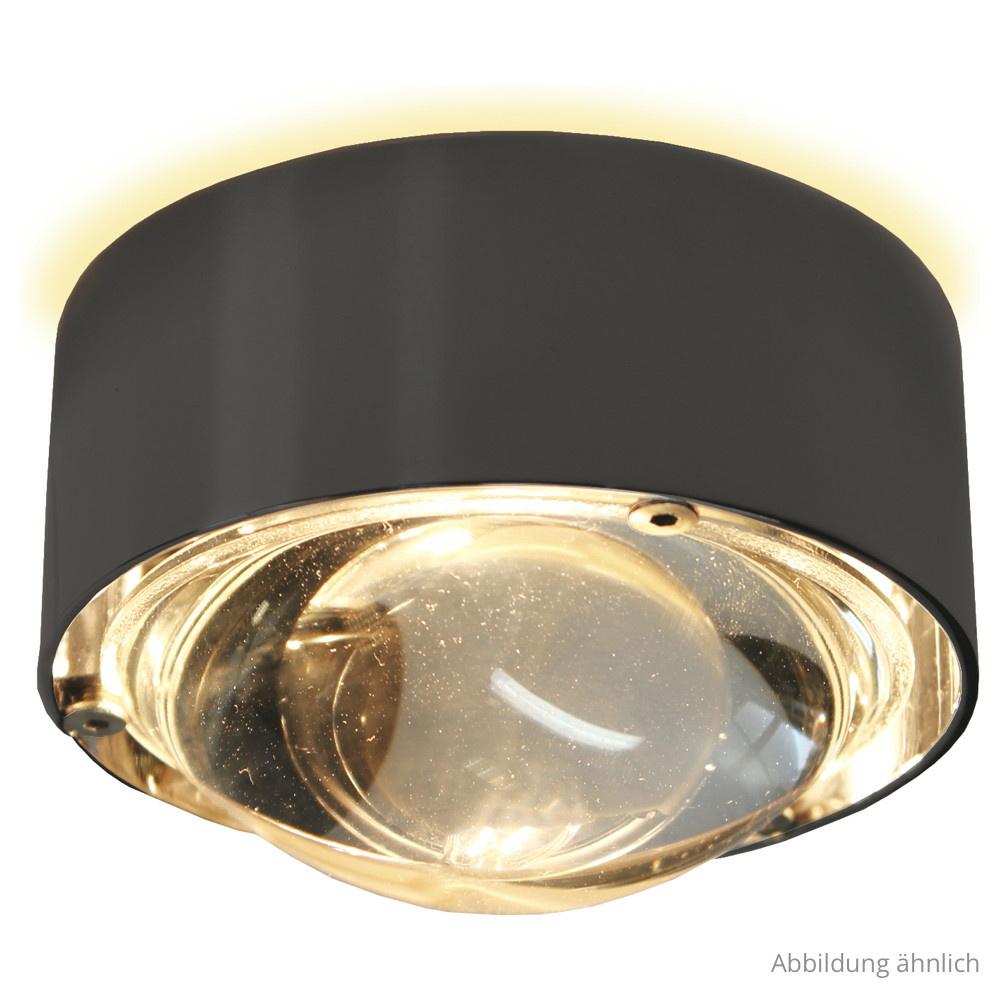 hochwertige wand deckenleuchte puk one led in anthrazit. Black Bedroom Furniture Sets. Home Design Ideas