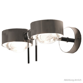 Stylische Wandleuchte Puk Wing Twin LED in versch....