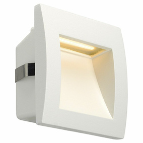 LED Wandeinbauleuchte Downunder Out S, IP55, 3000K, weiß