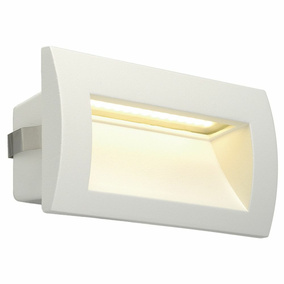 LED Wandeinbauleuchte Downunder Out M, IP55, 3000K, weiß