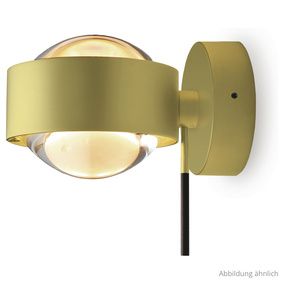 Originelle Wandleuchte Puk Maxx Wall + LED in gold...