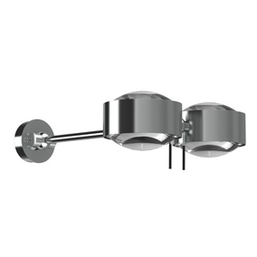 Originelle Wandleuchte Puk Maxx Wing Twin LED in...