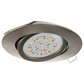 LED Einbauspot, GU10, 3000K, nickel-matt