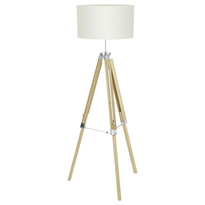Holz | Industriell  | Tripod Stehlampen