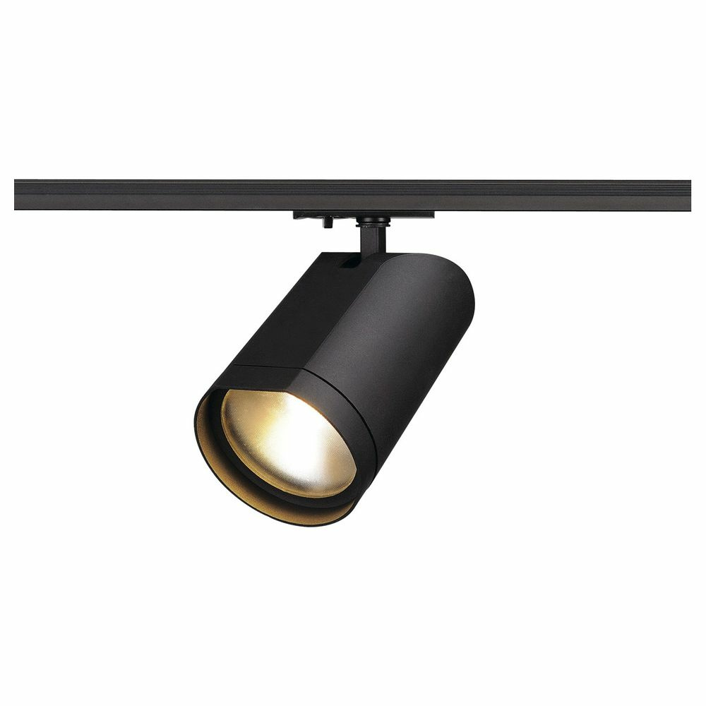 led spot f r 1phasen stromschiene bilas schwarz 60 slv 0143560 click. Black Bedroom Furniture Sets. Home Design Ideas
