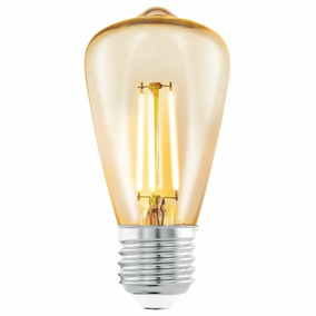 LED Filament Retro Leuchtmittel, E27, 3,5W, 220Lm, 2200K,...