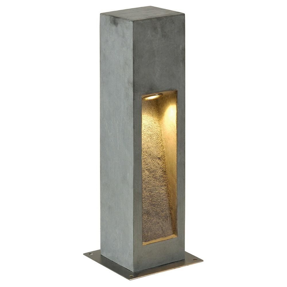 LED Wegeleuchte Arrock Stone aus Basalt in steingrau und ...