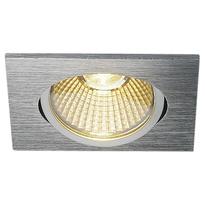 einflammiger led einbaustrahler new tria 68 clipfedern hochvolt eckig 3000k slv 0114396. Black Bedroom Furniture Sets. Home Design Ideas