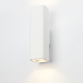 famlights | Gips-Wandleuchte Thorsten, up- & down,...