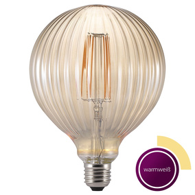 LED Filament Leuchtmittel in transparent braun, E27, 2 W,...