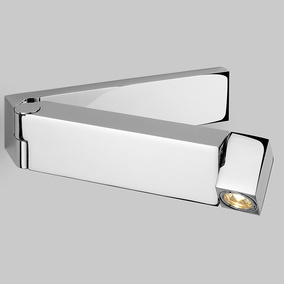 Funktionelle LED Wandleuchte Tosca in chrom poliert, mit...