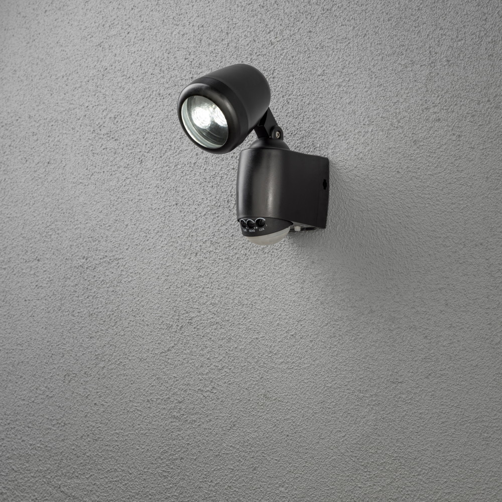 batterie led wandaufbauleuchte mit bewegungsmelder. Black Bedroom Furniture Sets. Home Design Ideas