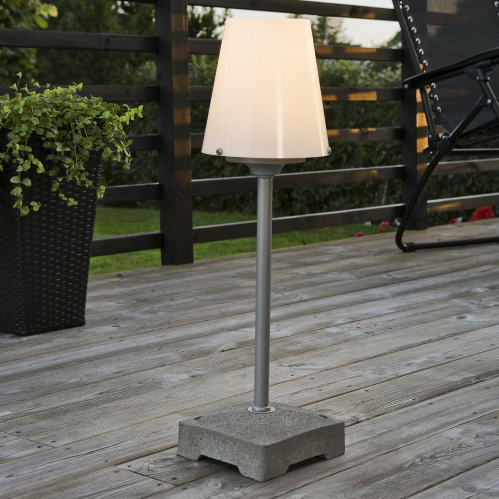moderne terrassenleuchte lucca wei konstsmide click. Black Bedroom Furniture Sets. Home Design Ideas