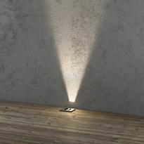 flexibler led bodenspot aus rostfreiem edelstahl ip65 mit verstellbarem lic konstsmide. Black Bedroom Furniture Sets. Home Design Ideas