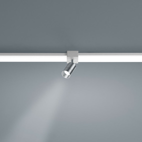 LED Lichtschienen Spot Vigo in nickel-matt 4W 360lm...