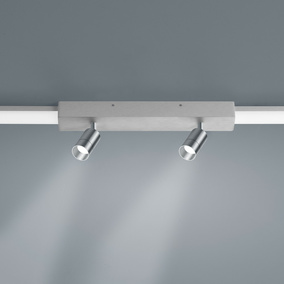 LED Lichtschienen Spot Vigo in nickel-matt 2x4W 720lm...