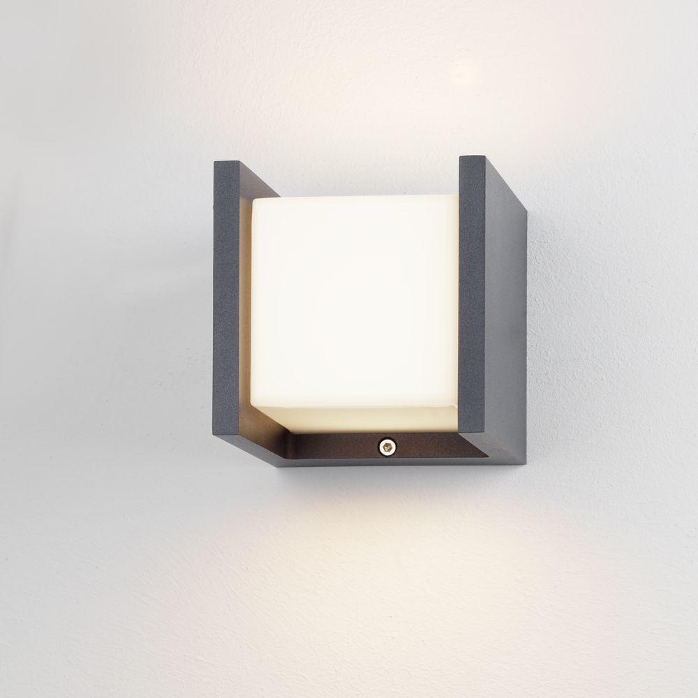 mylight led au enwandleuchte iserlohn anthrazit wei ip54. Black Bedroom Furniture Sets. Home Design Ideas