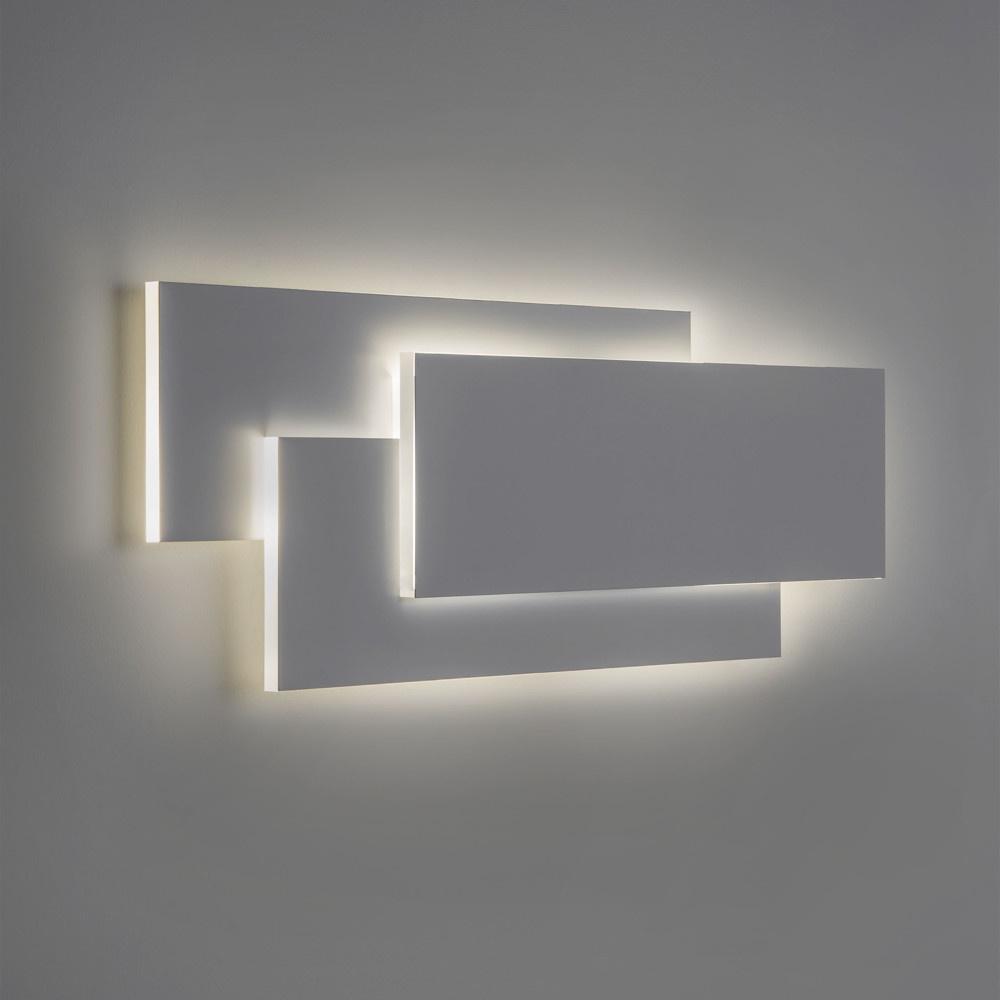 kunstvolle led wandleuchte edge dimmbar astro click. Black Bedroom Furniture Sets. Home Design Ideas