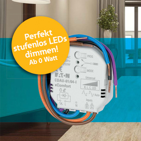 Stufenloser Universal-Smart-Dimmer, LED, Halogen,...