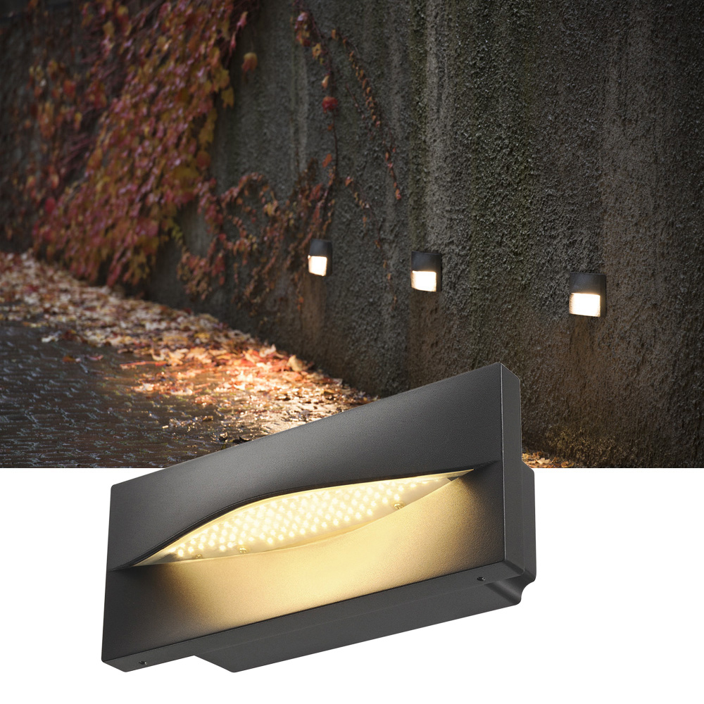ADI, Outdoor Wandeinbauleuchte, LED, 3000K, anthrazit, 15,4W