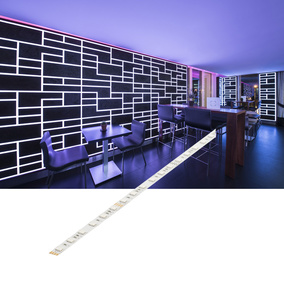 Flexibler LED Stripe RGB, 24V, 5000 mm, 10 mm