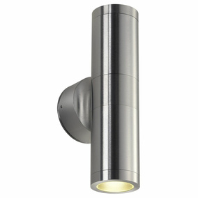 Wandleuchte Astina, rund, Up- and Downlight, 2xGU10, IP44