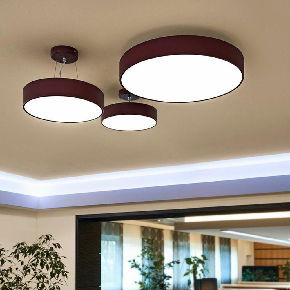 Deckenleuchte Medo LED umfunktionierbar zur Pendelleuchte   SLV   click licht.de