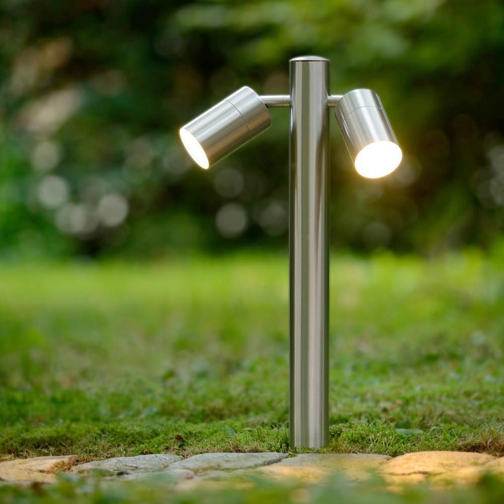 arne led poller leuchte h50cm 2xgu10 5w lucide 14867 10 12 click. Black Bedroom Furniture Sets. Home Design Ideas