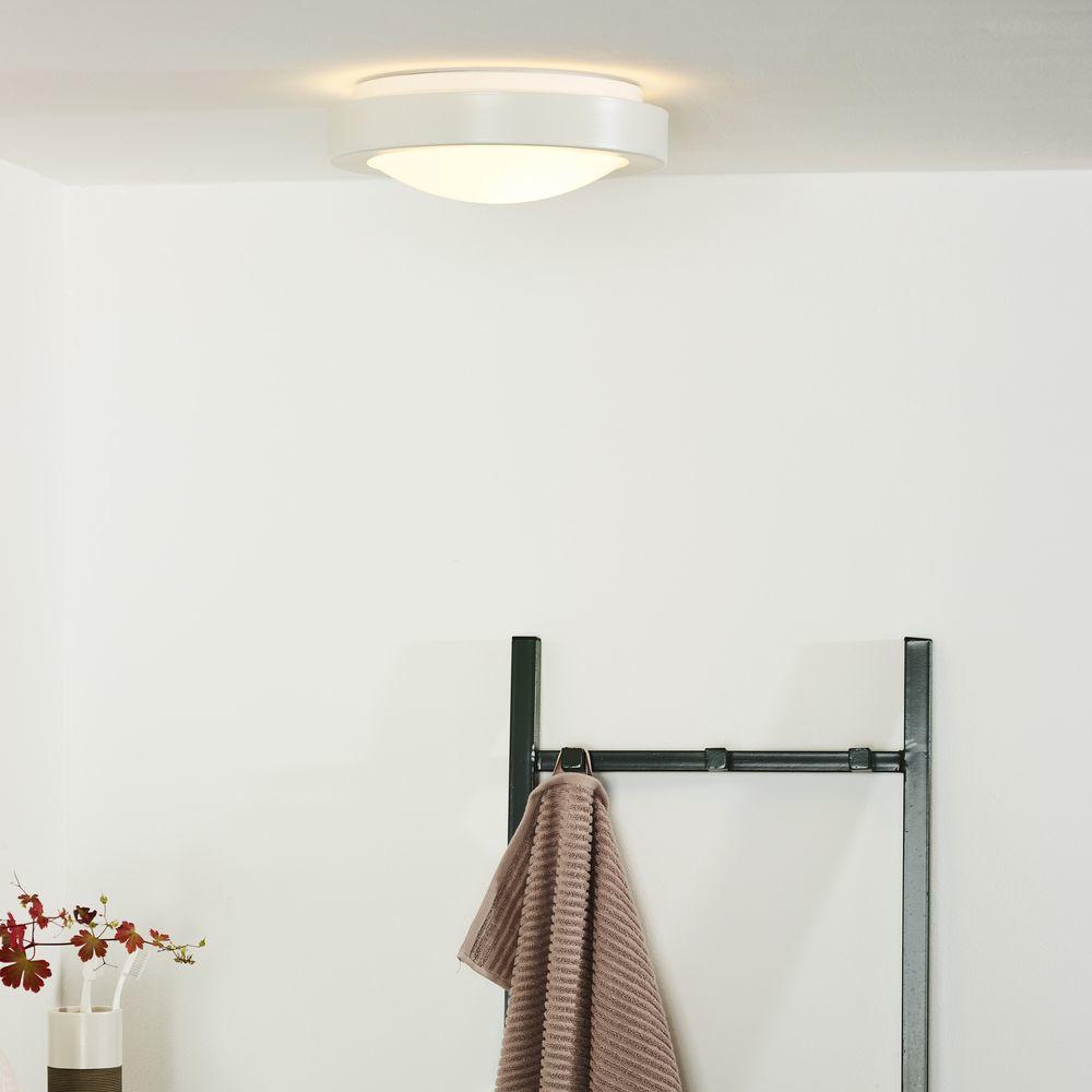 Badezimmer Deckenleuchte Fresh IP20 E20 weiß 200 mm 20 flammig ...