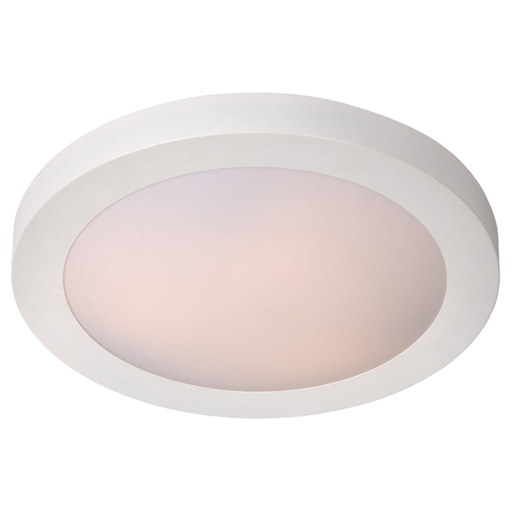Badezimmer Deckenleuchte Fresh, IP20, E20, weiß, 200 mm, 20 flammig