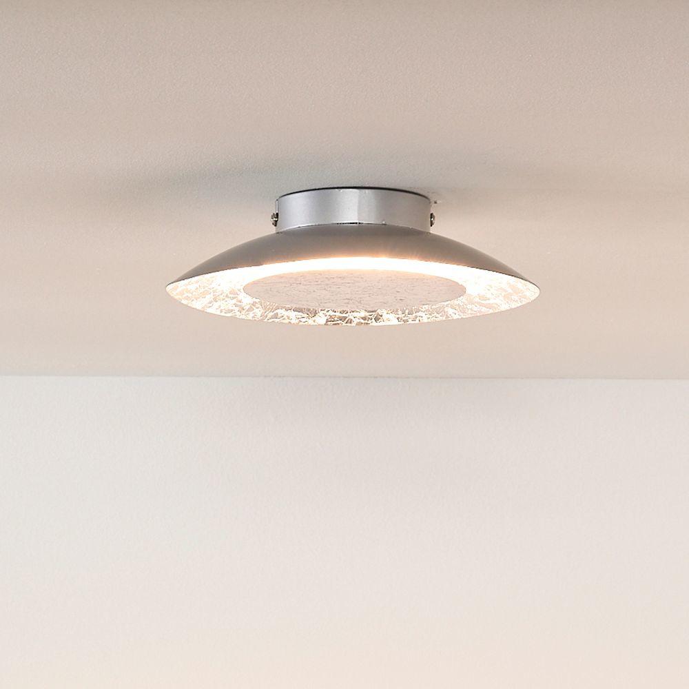 runde deckenleuchte foskal in silber inkl led 215 mm lucide 79177 06 14 click. Black Bedroom Furniture Sets. Home Design Ideas