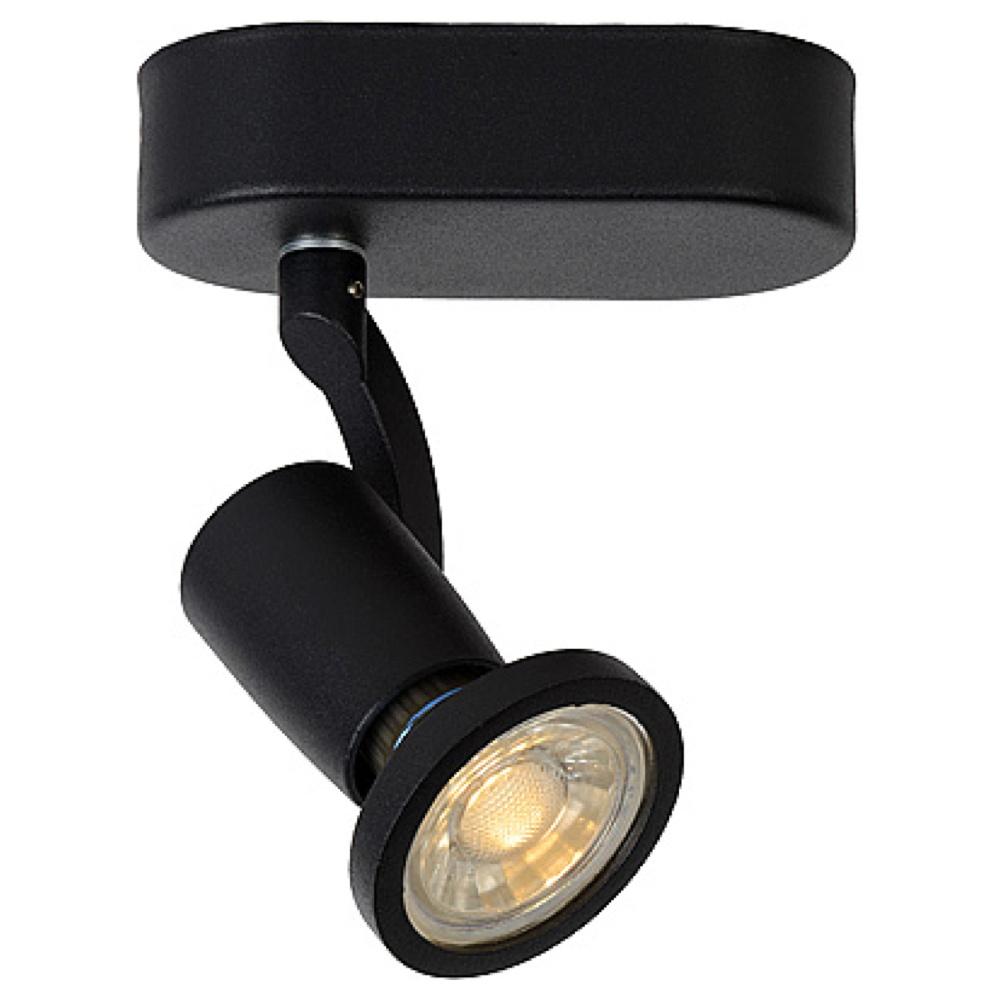 leuchtenspot jaster inkl austauschbarer gu10 led lucide click. Black Bedroom Furniture Sets. Home Design Ideas