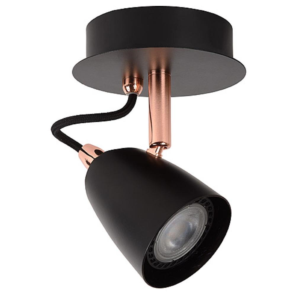 leuchtenspot ride inkl austauschbarem gu10 led lucide click. Black Bedroom Furniture Sets. Home Design Ideas