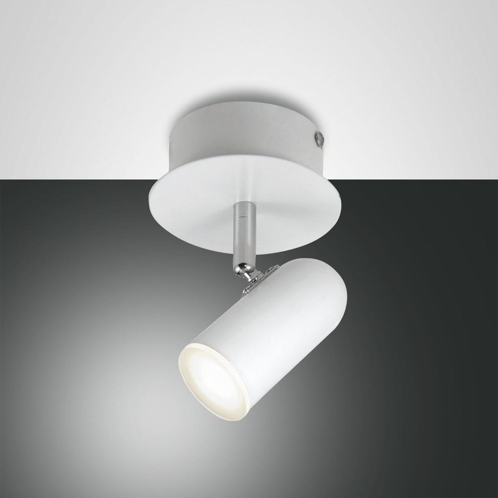 led wand und deckenleuchte spotty wei 1 flammig fabas luce 3328 81 102 click. Black Bedroom Furniture Sets. Home Design Ideas
