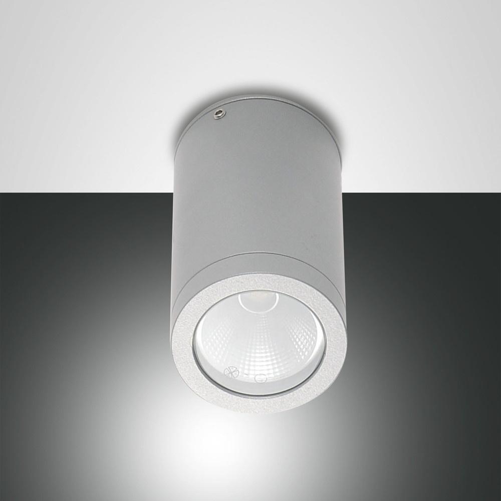 led spot uma f r den au enbereich ip54 silber fabas luce 6795 02 844 click. Black Bedroom Furniture Sets. Home Design Ideas