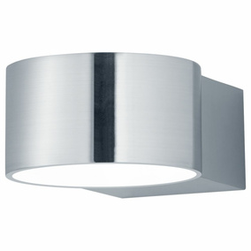 LED Wandleuchte in Nickel-Matt 4,5W 430lm