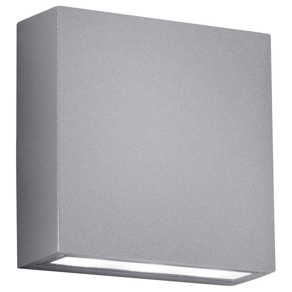 led au enwandleuchte thames 1 titanfarbig trio 229360287 click. Black Bedroom Furniture Sets. Home Design Ideas