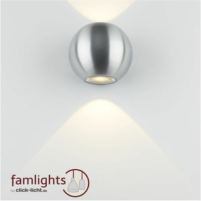 famlights | Wandleuchte Denver, up- & down