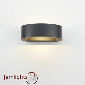 famlights | Wandleuchte Sharp, up- & down