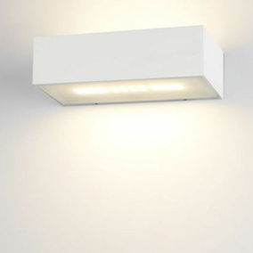 famlights | LED Wandleuchte Eindhoven Aluminium in...