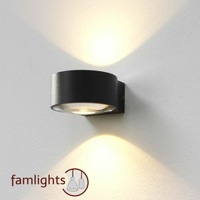 famlights | Wandleuchte Hudson, up- & down