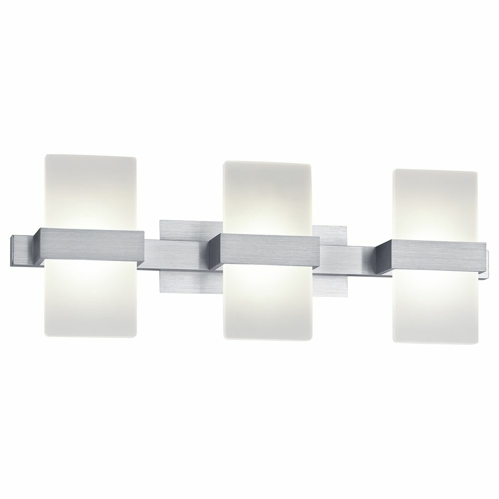 led wandleuchte platon aluminium wei 3000 k click. Black Bedroom Furniture Sets. Home Design Ideas