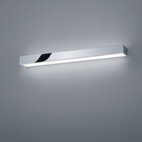 LED Wandleuchte Theia in chrom 18W 1395lm IP44 600mm