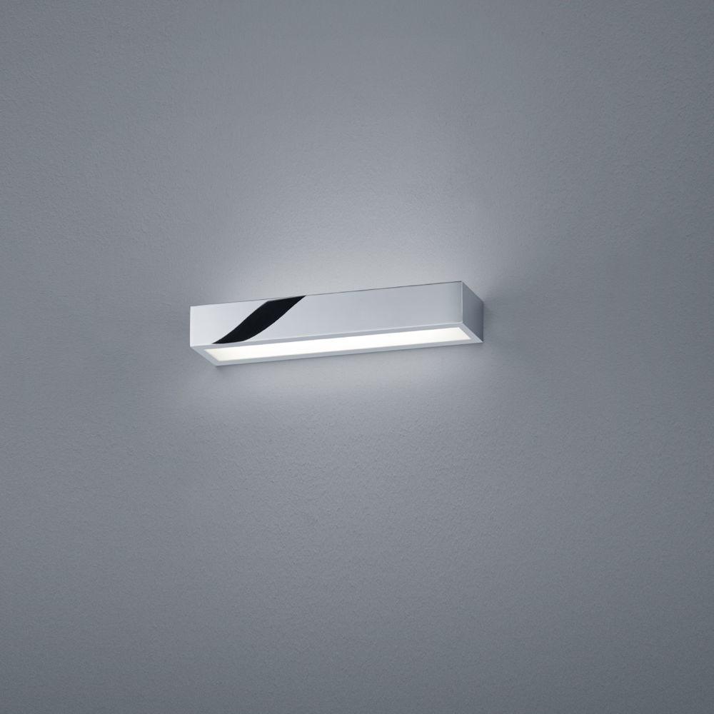 LED Wandleuchte Theia in chrom IP12