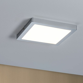 LED Panel Atria, 220 mm, chrom, eckig