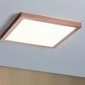 LED Panel Atria, 300 mm, rosegold, eckig