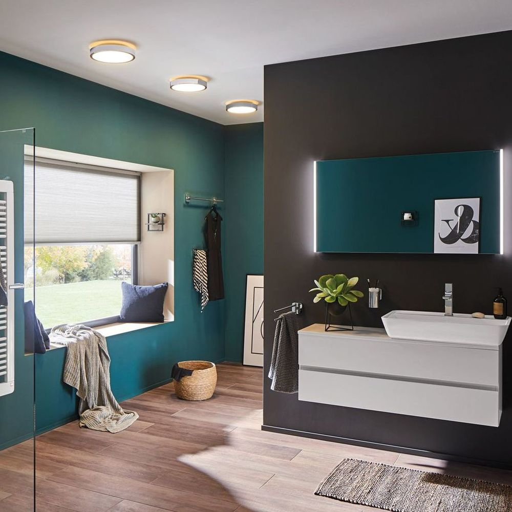 badezimmer led deckenleuchte ip44. Black Bedroom Furniture Sets. Home Design Ideas