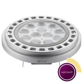 LED G53 AS111 Leuchtmittel, 12 W, grau, tranparent, 45,...